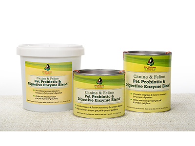Pet Probiotics from PWB